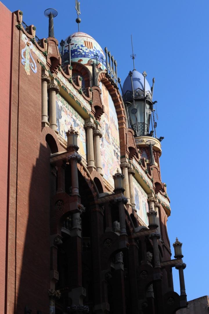 Arkitekturrute i Barcelona