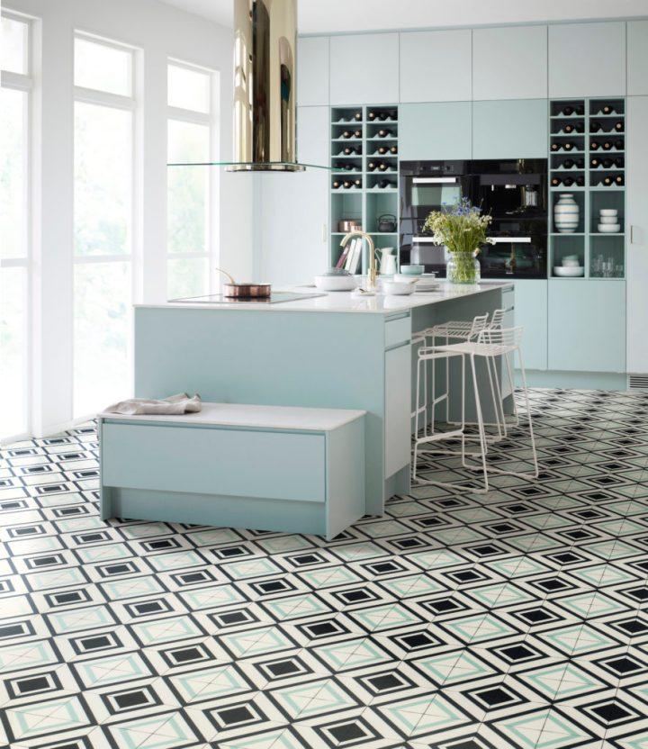 Trend: Mønstret gulv