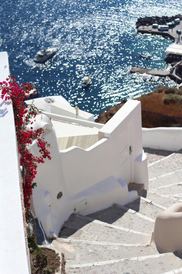 Santorinis vakreste badeplass